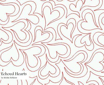 www.myquilter.blogspot.com: IQ patterns- перья или сердца