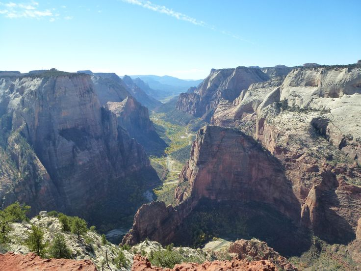 Angels Landing , from Observation point