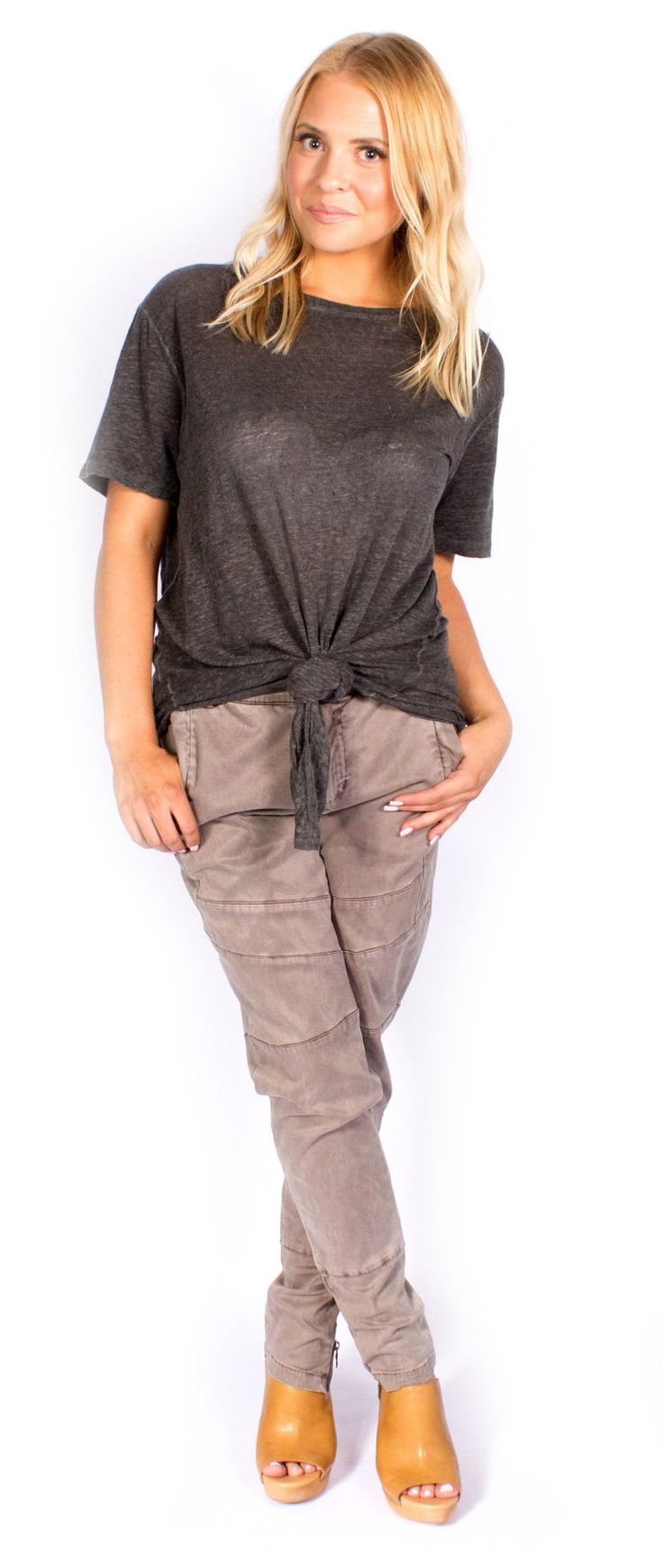 Young Fabulous & Broke Women's Parisa Pant S. True to size. Cotton. Hand Wash. Soft. Imported.