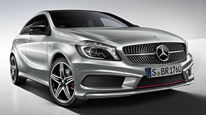 Mercedes-Benz A 250. Off and away with a lasting impression.