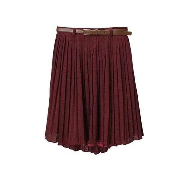 Dark Red Winter Pleated skirt ($42) ❤ liked on PolyvoreNifty Clothing, Clothing Website, Holy God, Fall Fashion, Dark Red, Polyvore, Dreams Wardrobes, Pleated Skirts, Maxis Skirts