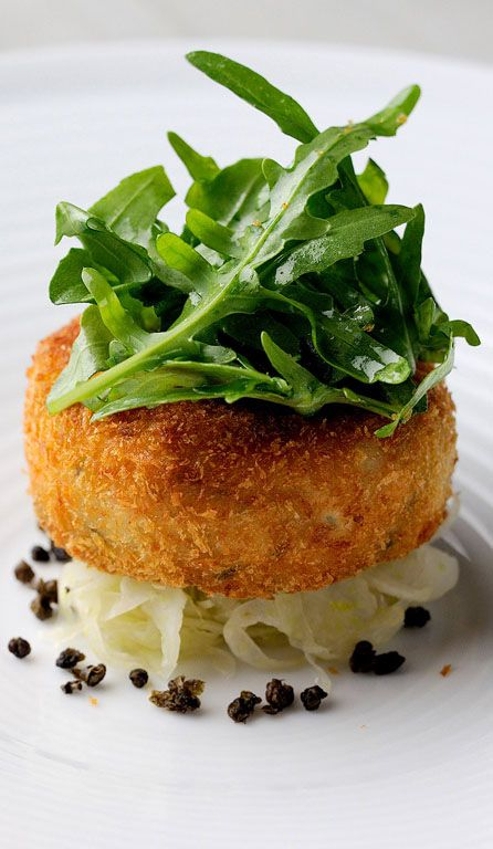 This salmon fish cake recipe from Chris Horridge is well-flavoured with the inclusion of vinegary capers and tangy lime.