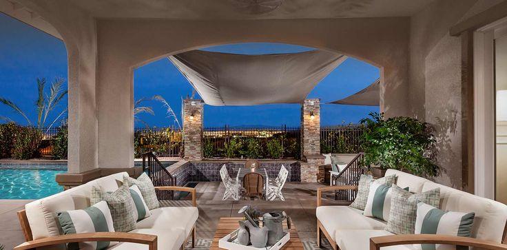 The Trapani Patio at Montecito in Las Vegas, Nevada