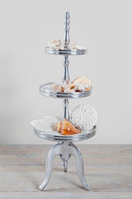 Love the serving multi-tray...but without the shells :) Riviera Maison