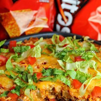 Layered Doritos Casserole! Recipe - Spend With Pennies & ZipList