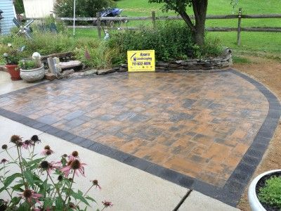 19 best pavers images on pinterest | driveways, patio ideas and ... - Driveway Patio Ideas