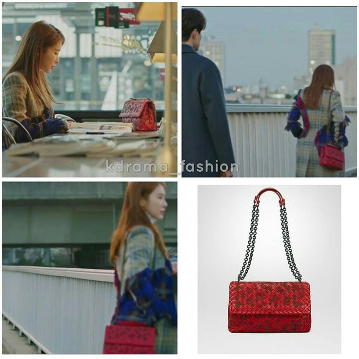 "505 lượt thích, 1 bình luận - @kdrama_fashion trên Instagram: ""Yoo In Na carried BOTTEGA VENETA Small Olimpia Bag in China Red Embroidered Intrecciato Nappa…"""