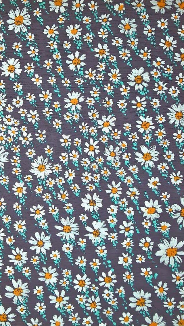Summer Flowers Pattern iPhone 5 Wallpaper