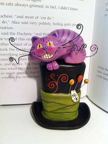 Cheshire Cat Mad Hatter Hat