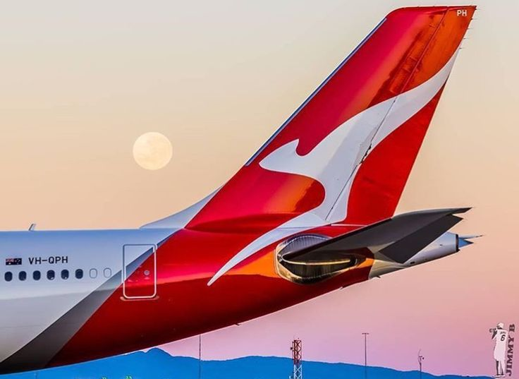 Qantas Airbus A330-302 (registered VH-QPH) wearing the updated livery