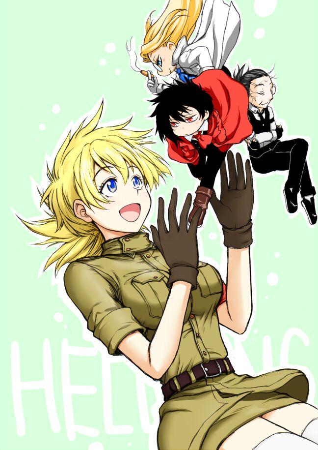Tags: Anime, Hellsing, Gonzo, Alucard (Hellsing), Integra Hellsing
