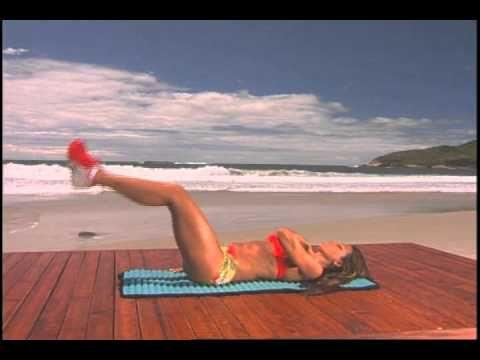 Solange Frazão - Exercício para reto Abdominal inferior - YouTube
