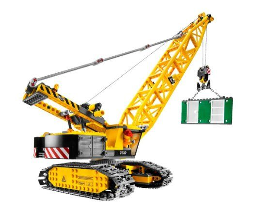 LEGO City Crawler Crane (7632): Toys & Games