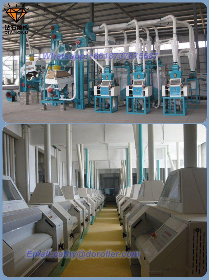 70 ton wheat flour milling line for sale