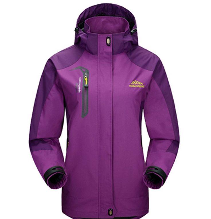 Acheter 1 Veste homme et femme randonnée ski sport avec capuche M au 5XL à seulement €39.99