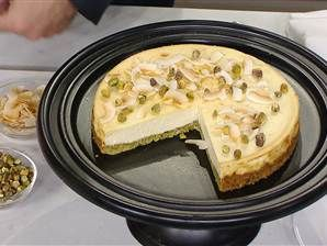 """Sugar free cheesecake from the book """"I quit sugar.""""  As seen on the NBC Today Show."""