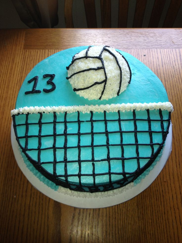 Volleyball Cake Cakes With Grace Pinterest I Want