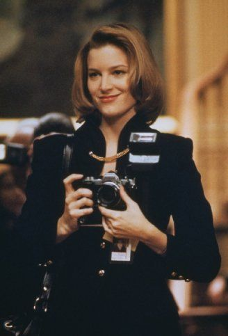 "Bridget Fonda in ""The Godfather: Part III"" (1990). DIRECTOR: Francis Ford Coppola."