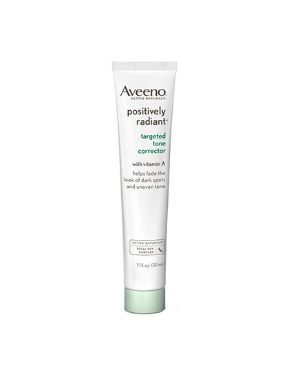 The Best Retinoids Under $30: Aveeno Positively Radiant Targeted Tone Corrector