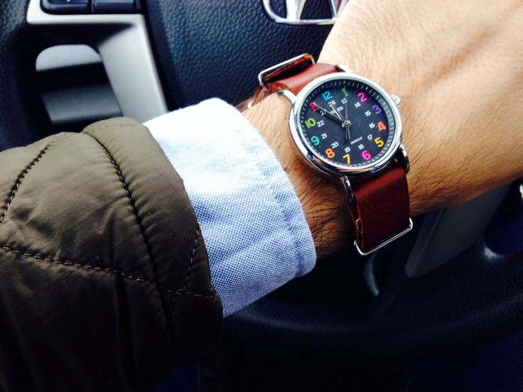 Timex Weekender. Simple, yet classy. Dress it up with a ...