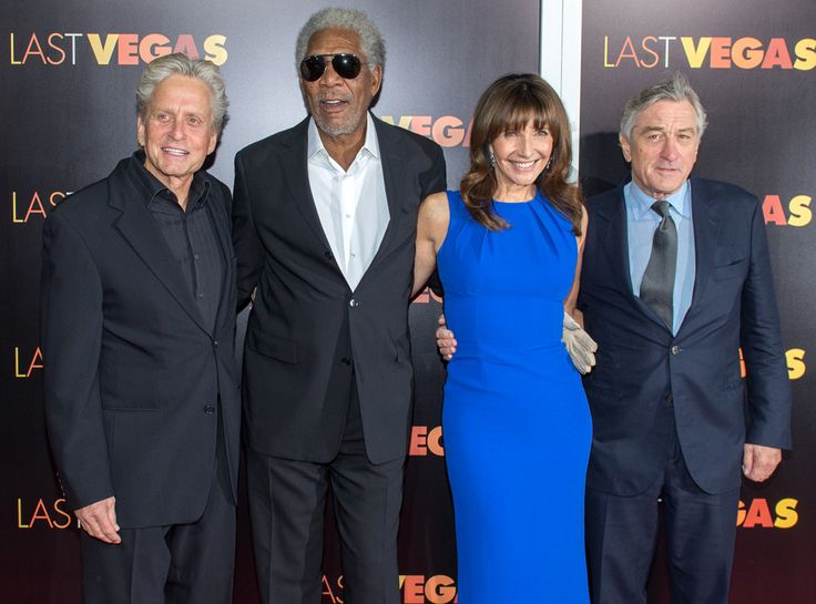 """Very Famous Foursome At The Premier of """"Last Vegas""""! 