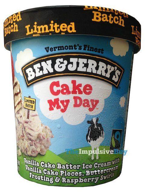 Ben & Jerry's Limited Batch Cake My Day Ice Cream