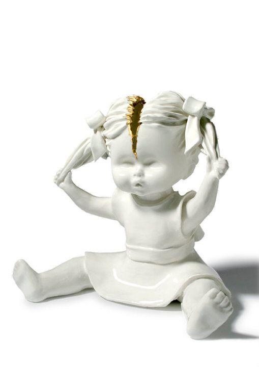 Best MARIA RUBINKE Images On Pinterest Weird Art Strange Art - Amazingly disturbing porcelain figurines by maria rubinke