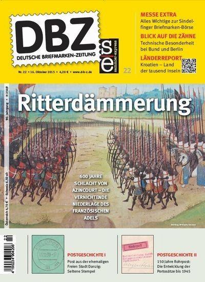 Ritter Schalcht vor 600 Jahren - jetzt im Magazin Deutsche Briefmarkenzeitung DBZ - hier als epaper: http://www.online-kiosk-24.de/dbz-deutsche-briefmarken-zeitung-22-2015-e-paper.html