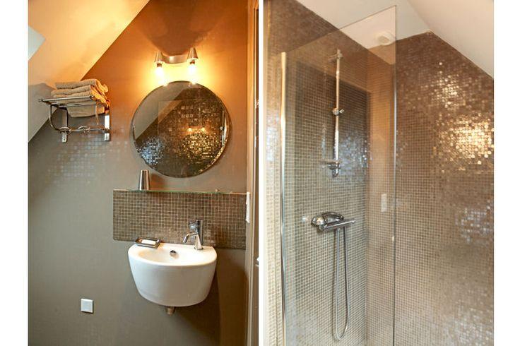 48 best images about salle de bain on pinterest femmes - Carrelage pour douche italienne ...