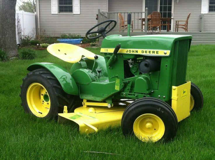 Antique John Deere Lawn Tractors : Best john deere garden tractors images on pinterest