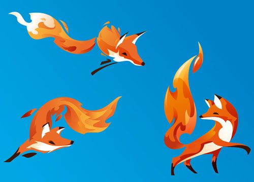 Firefox by Martijn Rijven of Amsterdam-based Bolt Graphics.