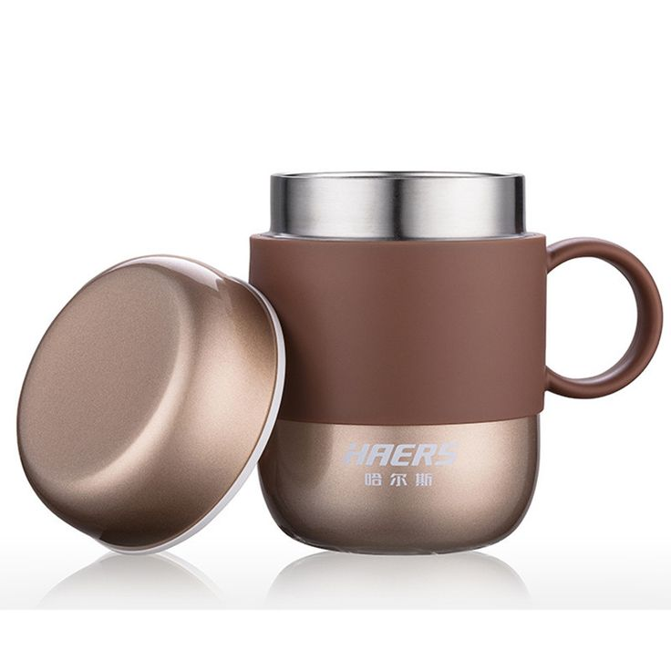 Candy Color Thermos Stainless Steel Coffee Mug 3 Colors