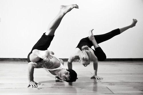 arm balances: Fit, Beautiful Form, Partners Yoga, Yoga Arm Balance, Yoga Poses, Yoga Life, Couple Yoga, Yoga Inspiration, Beautiful Pictures