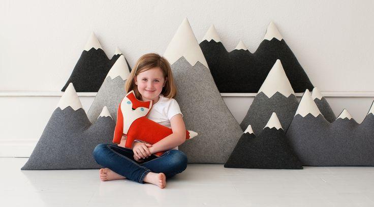 our mountain pillows