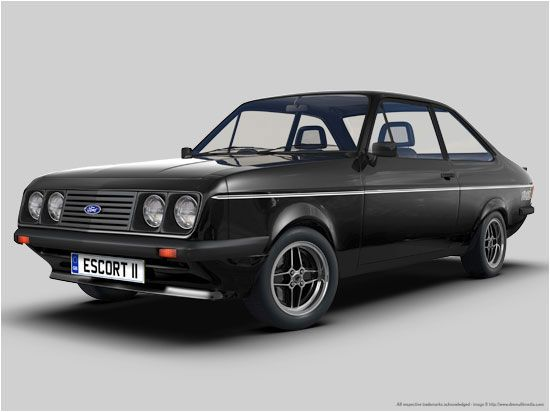 Image detail for -... Escort Rally spec Mk2 Escort Mexico - White Mk2 Escort RS2000 - Black