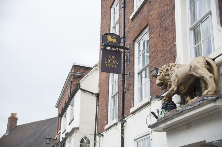 The Lion Hotel on Wyle Cop in Shrewsbury