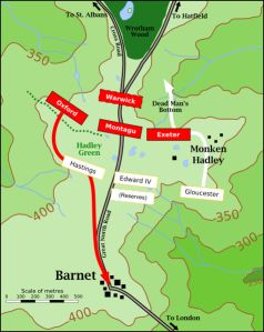 London's only Battlefield ~The Battle of Barnet: 14-Apr-1471