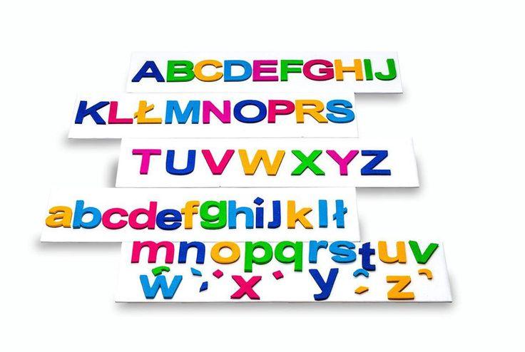 Magnetyczne Litery z FILCU - 5 cm w MagWords na DaWanda.com