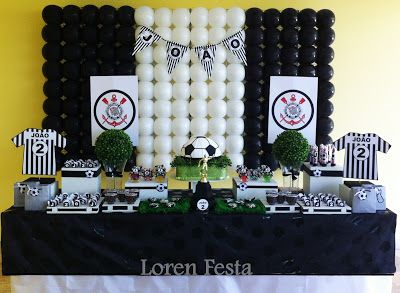Loren Festa: Festa Futebol Corinthians - Loren Festa