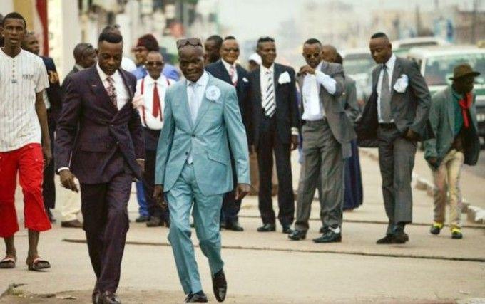53 fotos mostrando como as pessoas se vestem no Congo