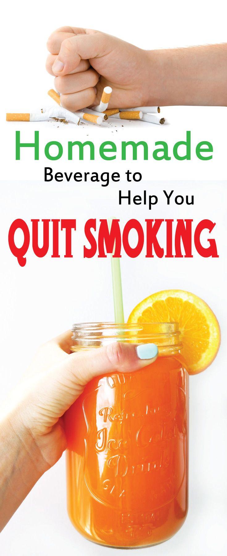 Homemade Beverage to help you QUIT SMOKING - Peek-ITPeek-IT
