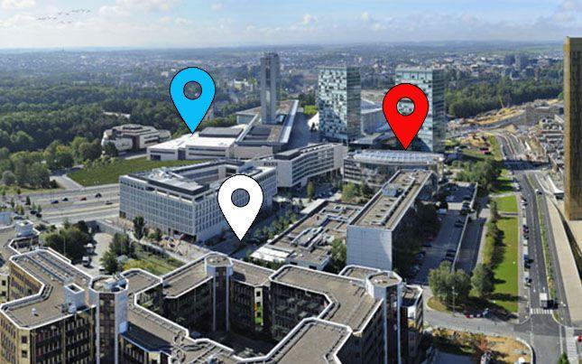 Carte interactive : Où se trouvent les recruteurs au Luxembourg ?