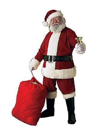 Adult Xx Large Deluxe Velvet Santa Suit