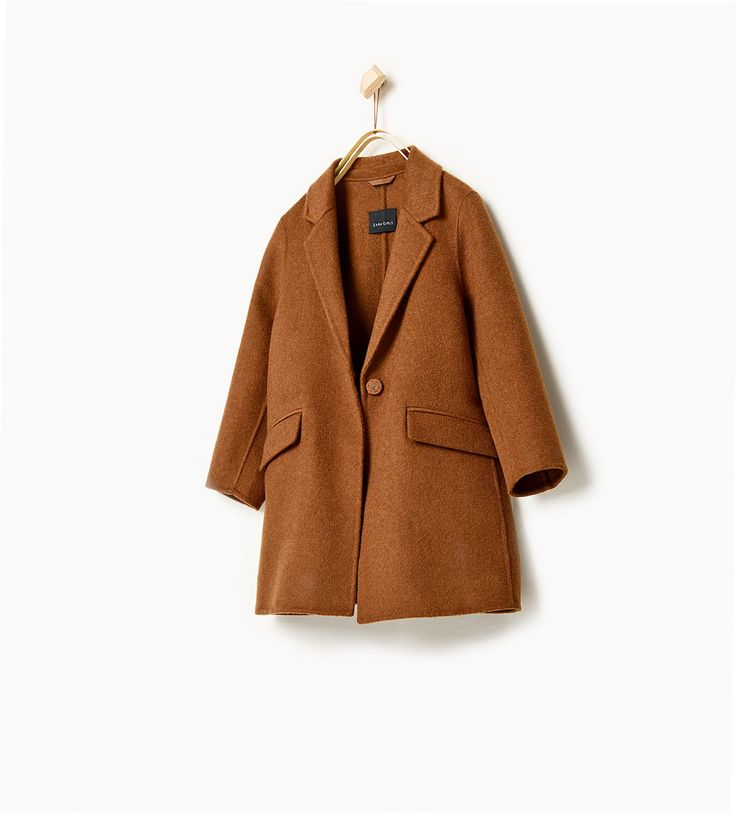 Coat-SOFT COLLECTION-GIRL   4-14 years-KIDS   ZARA United States