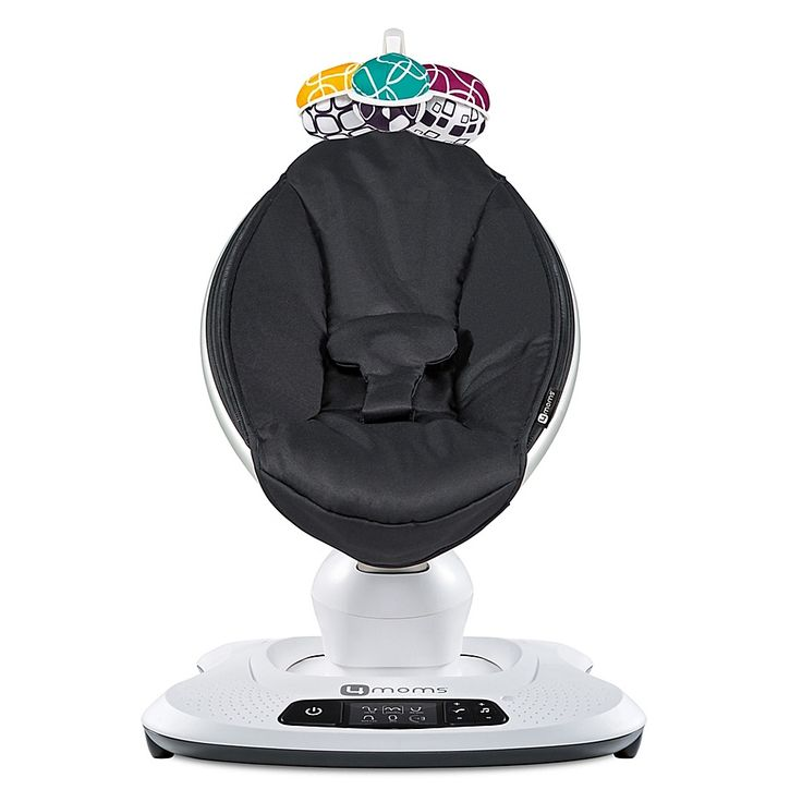 Baby Car Seat Mirror Target 4moms Mamaroo 4 Classic Infant Seat In Black In 2020