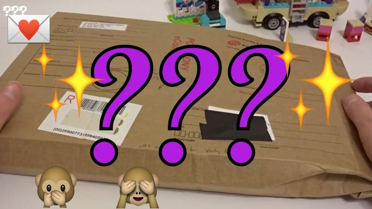 My Lego Mail opening - Ginny toys