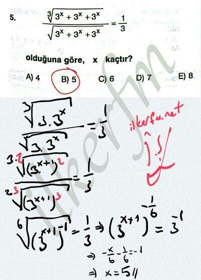 Köklü ifadelerde denklem Sistemleri #ygs #lys matematik fem Yayınları