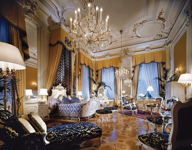 Hotel Imperial, Vienna, Austria (Royal Suite, Master Bedroom)