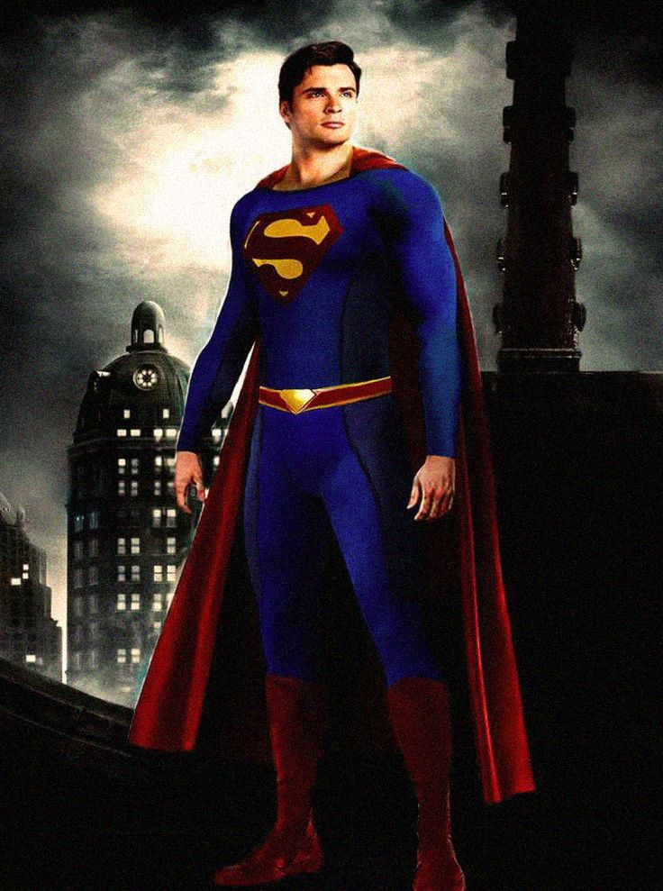 Smallville Tom Welling As Superman                                                                                                                                                     More