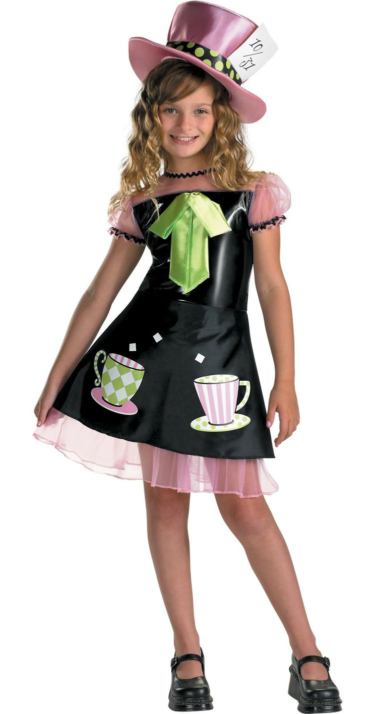 mad hatter book week girls costumes costumescomau - Mad Hatter Halloween Costume For Kids